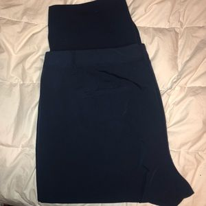 Navy dress trousers